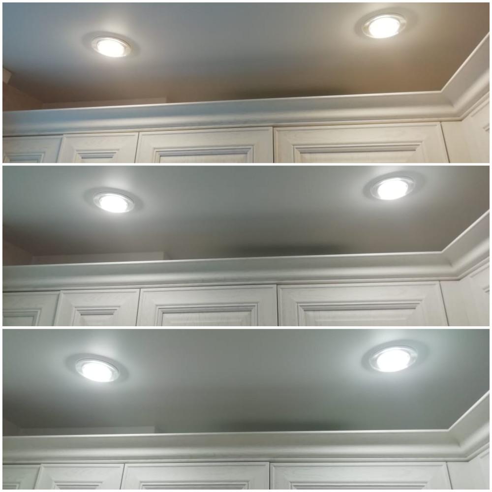 Встраиваемые светильники с изменяемой цветовой температурой