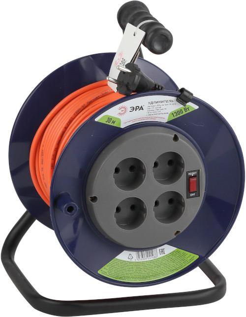 Силовой удлинитель с выключателем 1300Вт 30м ТМ ЭРА