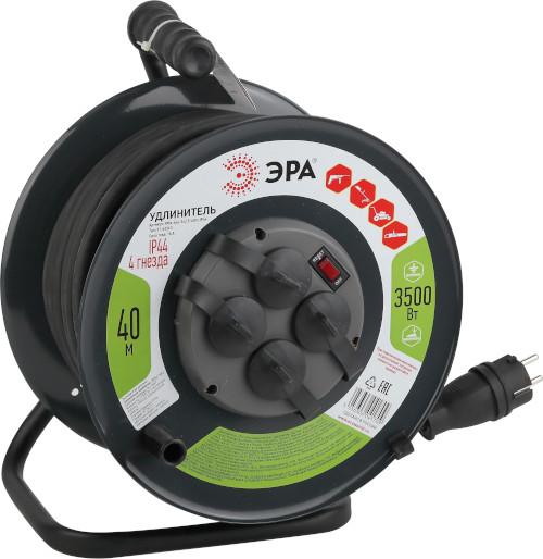 Силовой удлинитель IP44 с выключателем 3500Вт 40м ТМ ЭРА