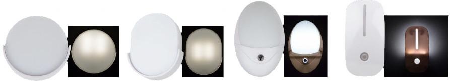 Светильники-ночники Uniel в более строгих формах