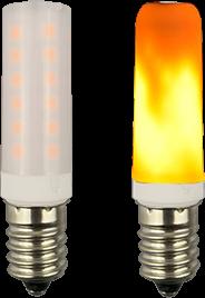 Лампы с имитацией пламени