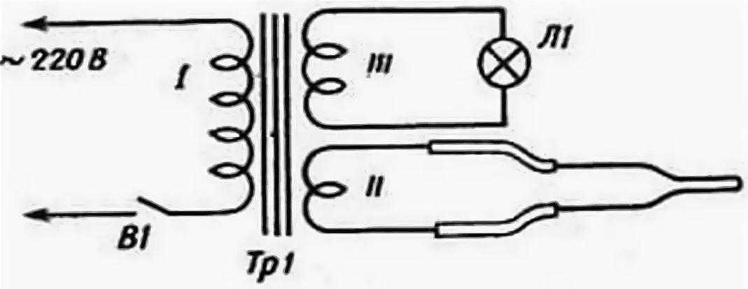 Схема импульсного нагревателя