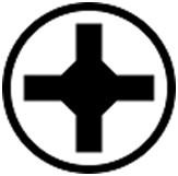 крестообразный шлиц Phillips